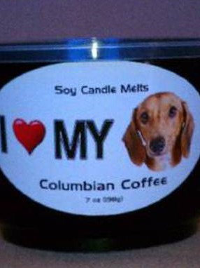 Soy Candle Melt Labels For Pet Lovers