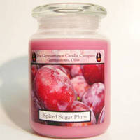 The Germantown Candle Company 26oz Label