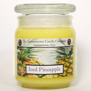 The Germantown Candle Company 16oz Label