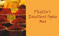 Phyllis Excellent Spice Mix Label