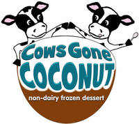 Cow's Gone Coconut Logo Labels