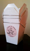 Wedding Favor Box Label