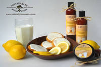 Frosted Lemon Cookie scented Bath & Body Labels