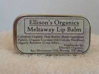 Ellison's Organics Lip Balm Label