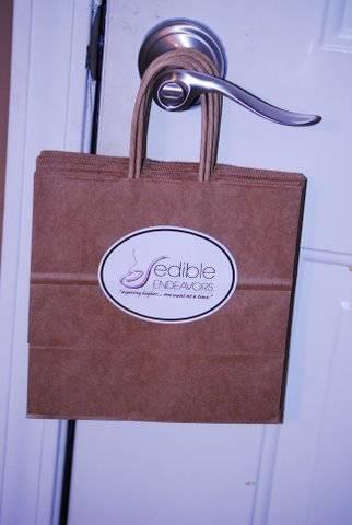 Brown Shoppette Bag Labels