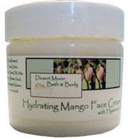 Desert Moon Bath & Body Face Cream Label