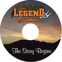 Team Legend Outdoors DVD Labels