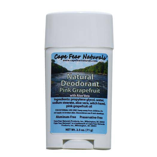 Custom Card Template online lables : Deodorant Labels from Cape Fear Naturals - Customer ...