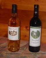 Chardonnay Wine Bottle Label