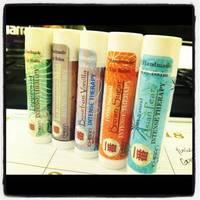 Ichiban's Intense Therapy Lip Balm Labels