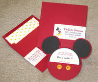 Mickey Mouse Style Address Labels