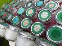 Jar Lid Labels By Only NatCHeryl Organic Handmade Lotions