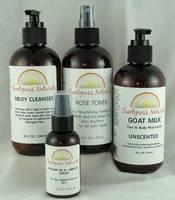 Sweetgrass Naturals Bottle Labels