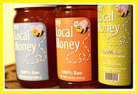 My Local Honey Jar Labels