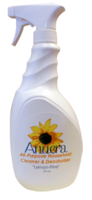 Spray Bottle Labels by Anuera's All-Natural All-Purpose Household Cleaner