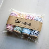 Olive Manna Packaging Labels