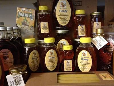 Honey and Maple Container Labels by Remsburger