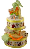 Diaper Cake Label Wraps - Jungle Theme