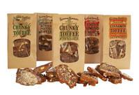 Sierra Sweets Toffee Bag - Brown Kraft Labels