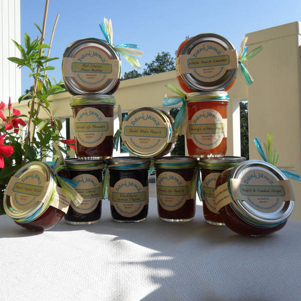 DaniJamz Jar Labels