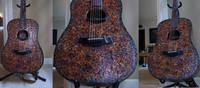 Taylor Acoustic Electric Guitar Label Art