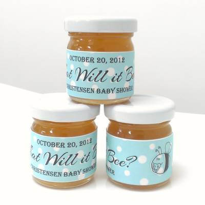 The Honey Jar's Baby Shower Labels - Customer Creations - Online ...