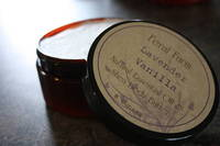 Feral Farm Body Butter Round Brown Kraft Lid Labels