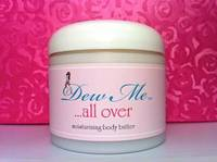All Natural Body Butter Labels by Dew Me Cosmetics