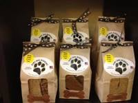 Paws Dog Barkery - PB Crunch Treats Bag Labels