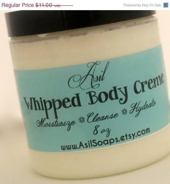 Asils Whipped Body Creme Wrap Around Jar Labels