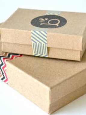 Gift Box Labels