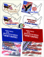 Made In Amercia Labels -Printing in America by Infinity Graphics