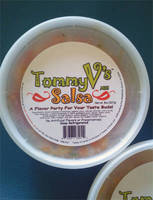 TommyVs Salsa Label
