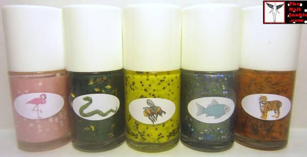 The Nail Junkie Artisan Nail Polish Bottle Labels