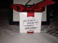 Wedding Favor Box Labels