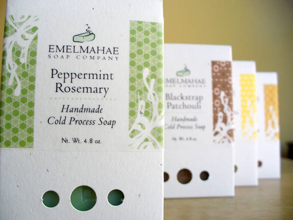 emelmahae soap company clear soap box labels customer ideas