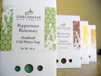 Emelmahae Soap Company - Clear Soap Box Labels