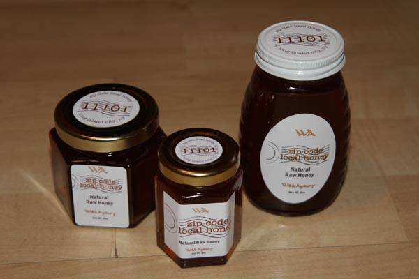 Zip Code Local Honey Jar Labels
