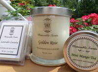 Soy Candle Labels by Memorable Scents