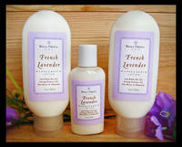 French Lavender Body Lotion Labels by Bella Fresca