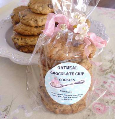 Spoonful Of Sugar Cookies Label