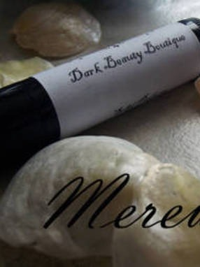 Merewif solid perfume tube labels