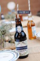 Longhorn Lager Root Beer Bottle Labels