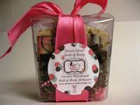 Soap Gift Box Round Labels