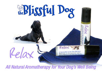The Blissful Dog RELAX! Dog Aromatherapy Roll-On Container Labels