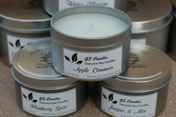GS Candle Tins Label Customer Ideas OnlineLabelscom