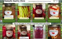 NannyOs Kitchen Jar Labels