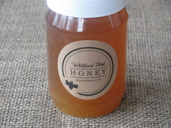 brown kraft honey jar labels - customer creations