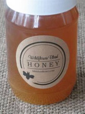 Brown Kraft Honey Jar Labels