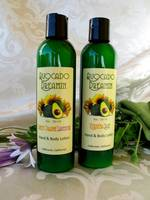 Avocado Dreamin Natural Hand & Body Lotion Bottle Labels